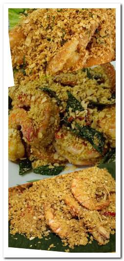 Cereal prawns recipe picture