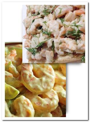 Shrimp salad with mayo recipe picture