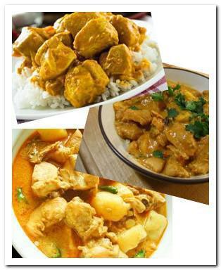 Chicken curry picture