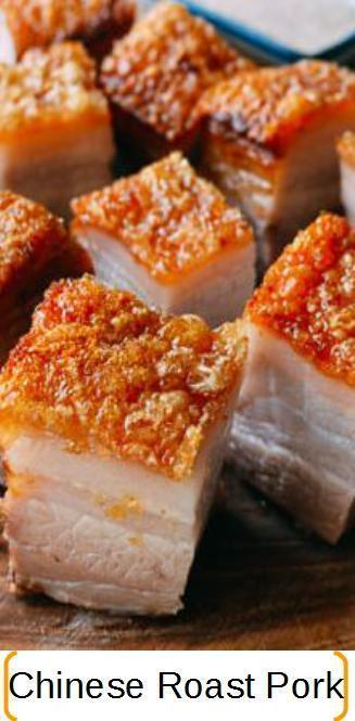 Crispy skin roast pork recipe