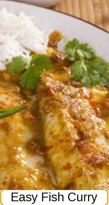 Fish curry recipe