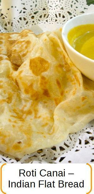 Roti canai - Indian flatbread recipe